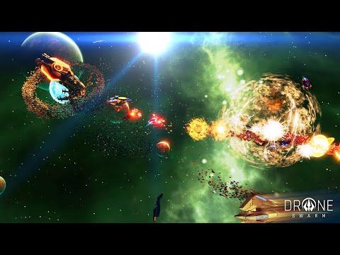Drone Swarm (Demo) ★ GamePlay ★ Ultra Settings |