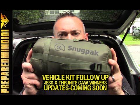 Vehicle Kit Update/Jess-X and Thrunite GAW Winners/Coming Soon - Preparedmind101