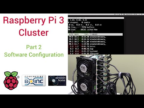 Raspberry Pi 3 Super Computing Cluster Part 2 - Software Config
