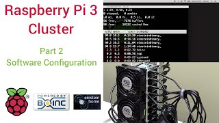 raspberry pi 3 super computing cluster part 2 software config