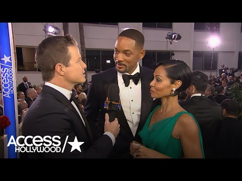 Thumbnail: Golden Globes: Will Smith On Presidential Rumors – 'I Could Handle' Trump