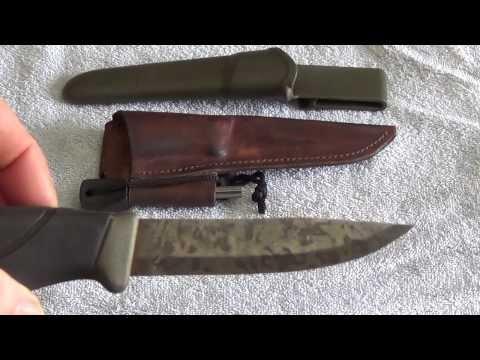 Mora Knife Modifications
