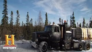Ice Road Truckers: Art Lends Joey a Hand (S9, E8) | History