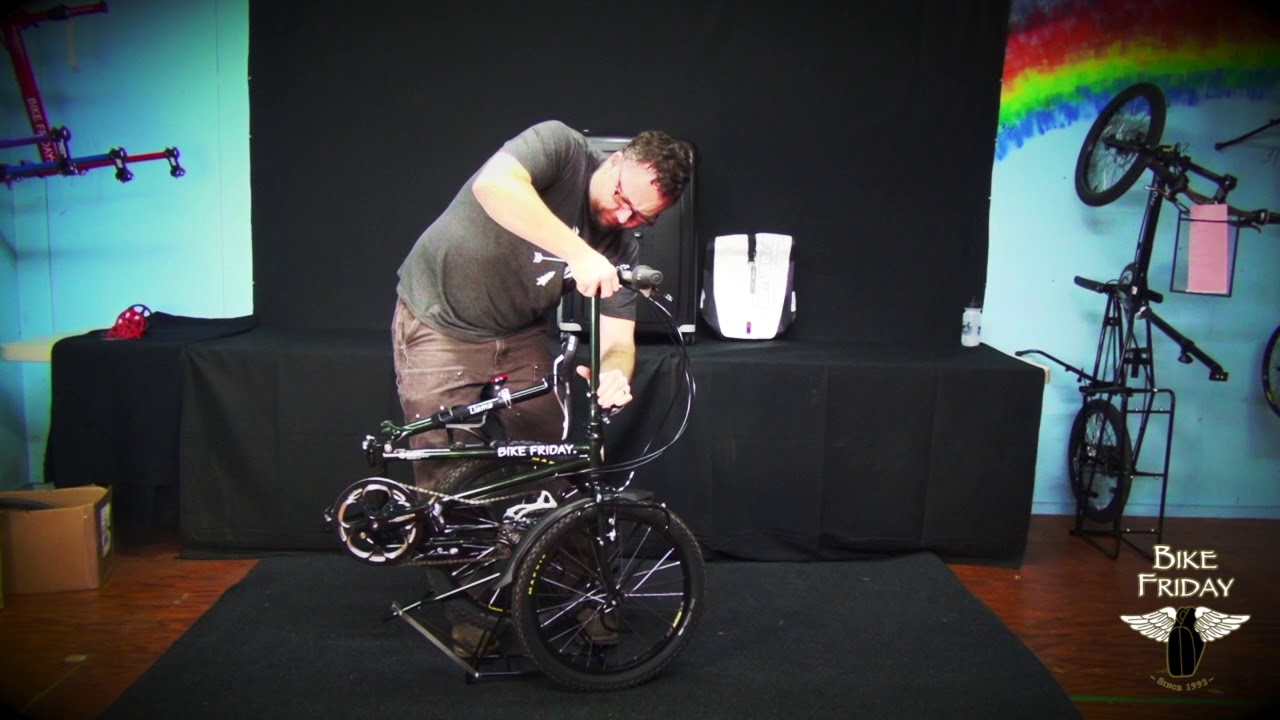 The Fast Fold On The Bike Friday Diamond Llama Youtube