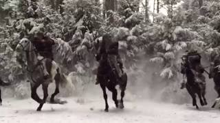 """Искуственный снег. Фильм """"Викинг"""""""