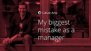 Didier Elzinga: My biggest mistake as a manager