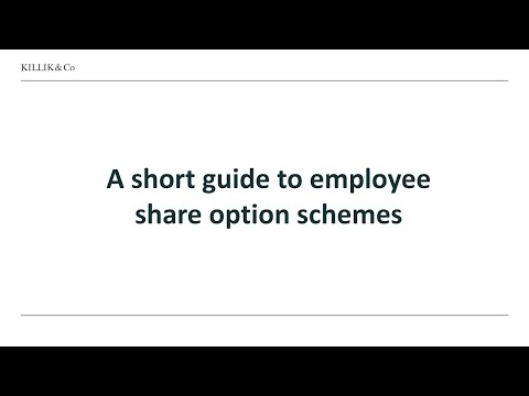 A short guide to share option schemes