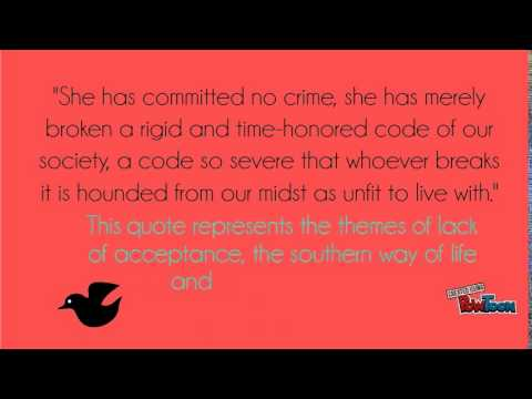 To Kill a Mockingbird Quotes - YouTube