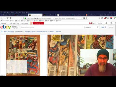 Twitch Live Stream #3: How I Surf eBay and Buy Comic Books, How to Find Good Deals