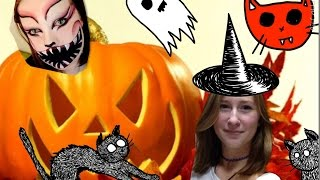 Макияж Для Хэллоуина | Make-up For Halloween