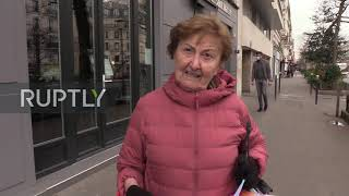 France: Parisians React To Local Election Held In Face Of Coronavirus Pandemic