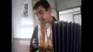 Мужик классно играет на баяне в электричке (Мелитополь)