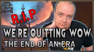 The End of an Era - Why We're No Longer Covering WoW