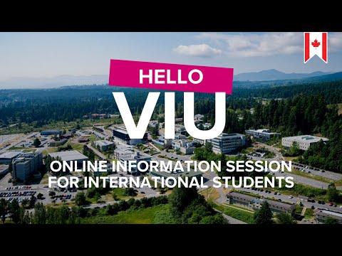 Vancouver Island University- Hello VIU!