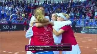 Кубок Федерации Россия — Германия: заключительная парная встреча