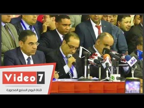 لحظة إعلان فوز الخطيب وقائمته بانتخابات مجلس إدارة الأهلى