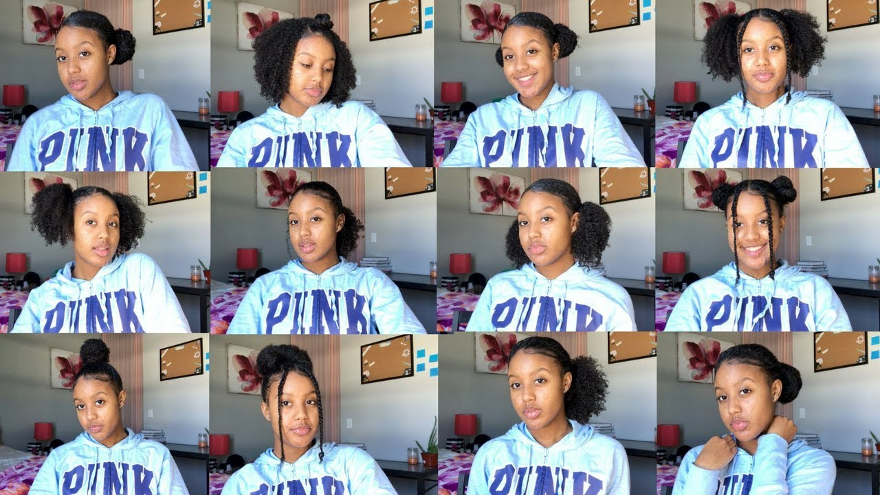 Bored With Your NATURAL HAIR? | 16 Quick & Easy Hairstyles for Curly Hair Pt. 1