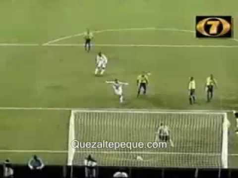 Gol Historico. Guatemala Vs Brasil (Copa De Oro 1998)