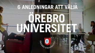 Sex anledningar att välja Örebro universitet thumbnail
