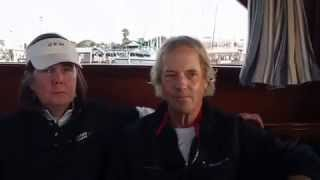 Interview Steve & Heidi Benjamin at Quantum Key West Race Week 2015