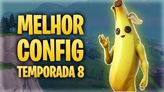 MELHOR CONFIGURAÇÃO DE JOGO - Fortnite [Temporada 8]