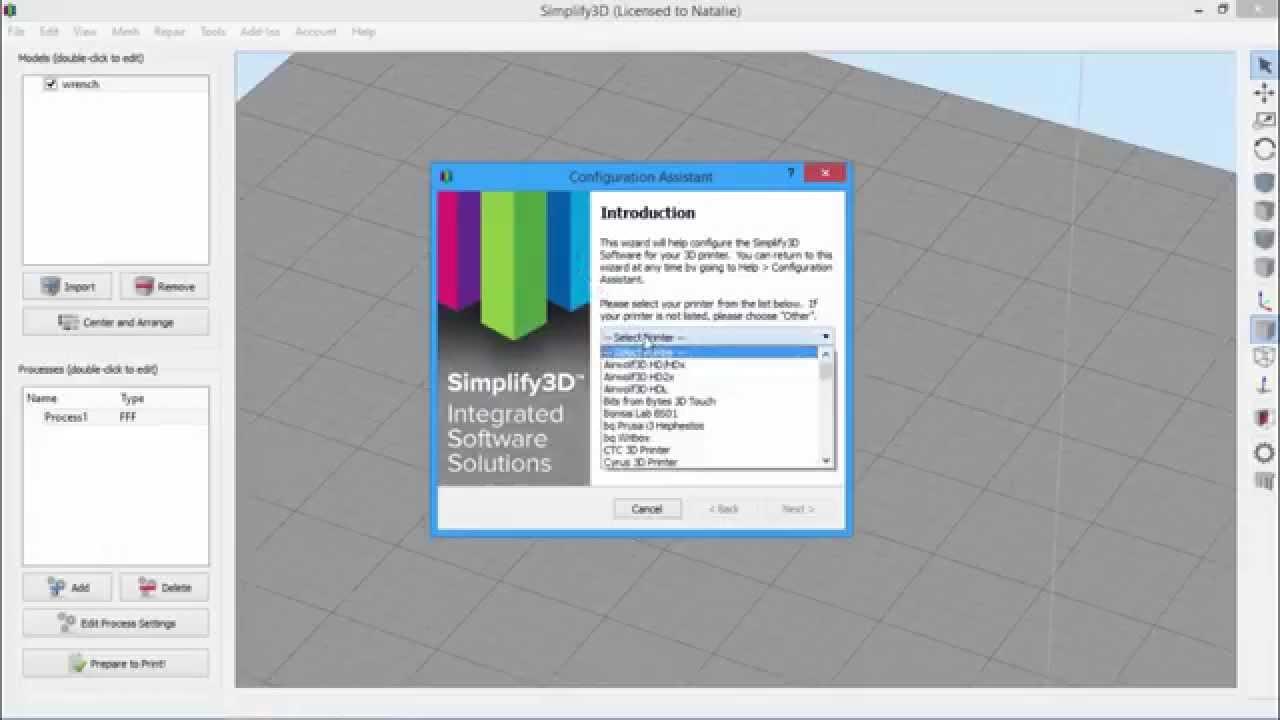 Managing Printer Profiles | Simplify3D