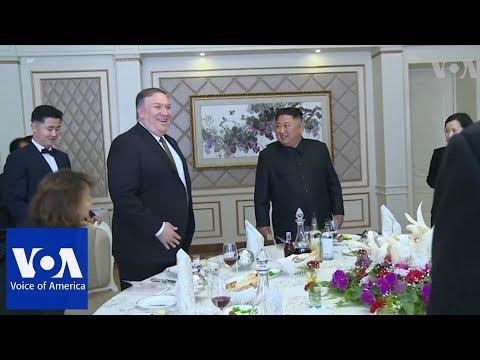 Pompeo Meets North Korean Leader Kim Jong Un