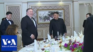 Pompeo Meets North Korean Leader Kim Jong Un