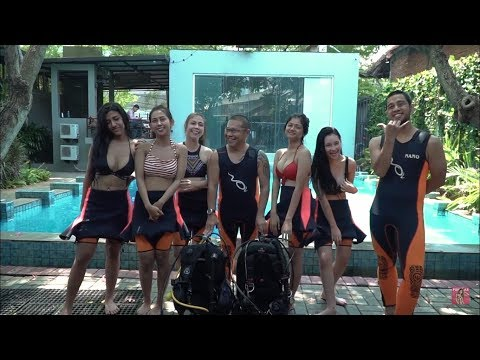 Melawan Rasa Takut Dengan Scuba Diving | Grand Finale Miss Popular 2018