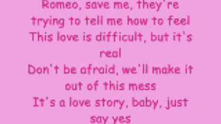 ♥Taylor Swift-LoveStory [lyrics]♥