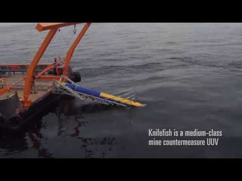 Updated: Knifefish Surface Mine Countermeasure (SMCM) Unmanned Undersea Vehicle (UUV)