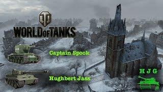 World of Tanks - Platoon with Capt. Spook - Hvy Tank #6 and KV-2
