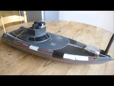 bateau radio command pilote en immersion fpv boat conrad youtube. Black Bedroom Furniture Sets. Home Design Ideas