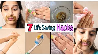 7 Life Saving Summer Beauty Hacks You Must Try | #Makeup #Skincare, Nails | Super Style Tips