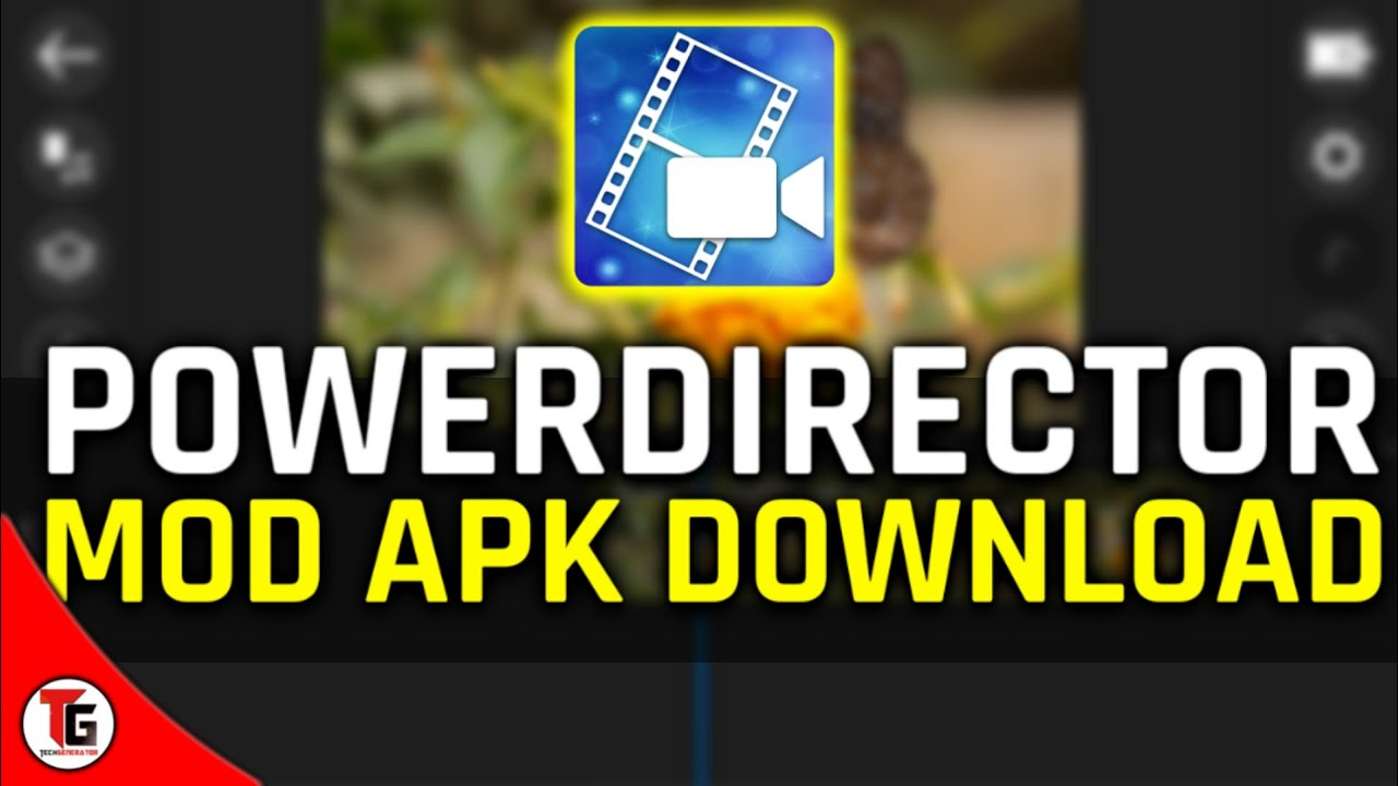 Powerdirector latest version mod apk download 2019  #Smartphone #Android