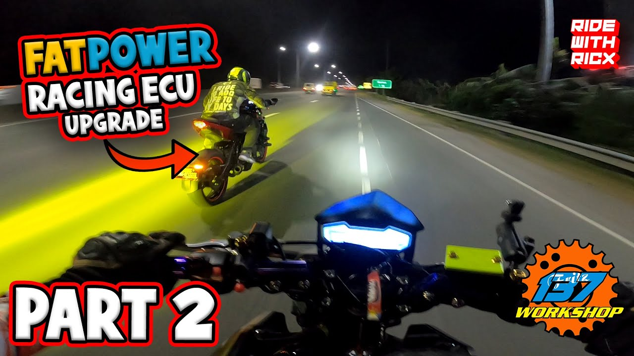 FATPOWER RACING ECU installed on CFMOTO NK400 | 137 WORKSHOP | RIDE with RICX | PART 2