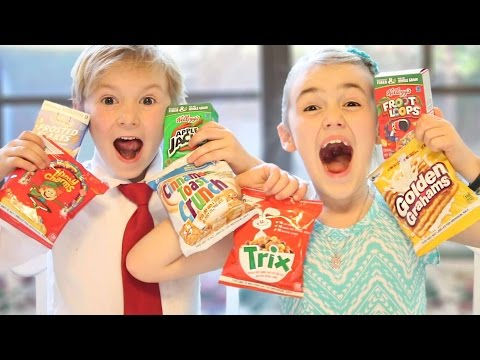 Kids Try Sugary Cereal For the First Time