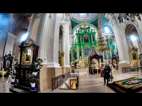 Russian Orthodox Churches of Vilnius, Lithuania. A Walk Around Inside and Outside