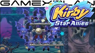 Kirby Star Allies - New Moves Shown for Daroach & Dark Meta Knight