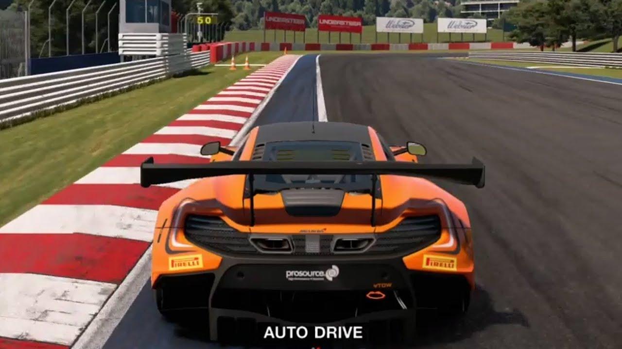 Gran Turismo Sport - McLaren 650S GT3 2015 - Test Drive Gameplay ...