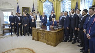 President Trump Welcomes the St. Louis Blues Stanley Cup Champions