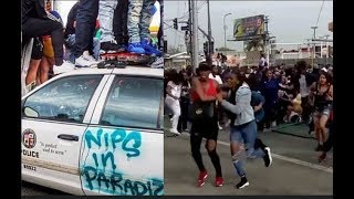 4 Shot 1 Dead AT Nipsey Hussle Procession Staple Center...DA PRODUCT DVD