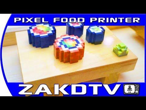 .可以吃的 3D 列印壽司