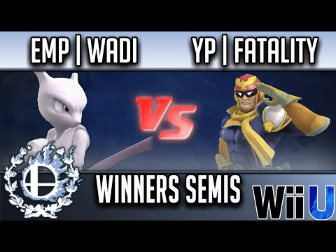 Showdown Battle Royale 2 WINNERS SEMIS - EMP   WaDi (Mewtwo) vs YP   Fatality (Captain Falcon)