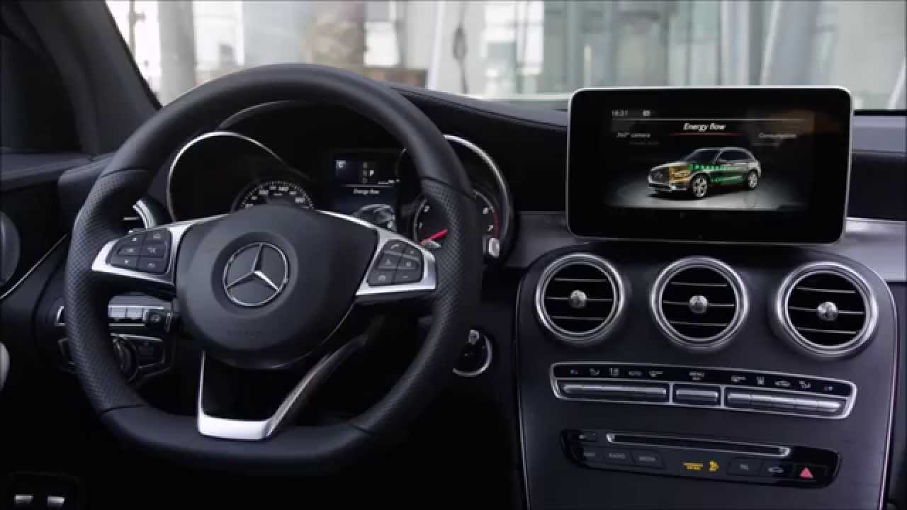 Mercedes GLC 350e 4MAITC - Design - Interieur - Exterieur - YouTube
