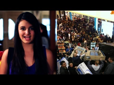 "Karaoke the News: BLACK FRIDAY EDITION - To Rebecca Black's ""Friday"""