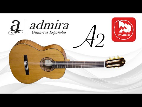 Классическая гитара Admira A2 (хорошие резонанс и сустейн)