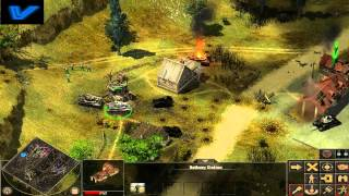 Frontline Fields of Thunder gameplay: Mission 1 end final objective