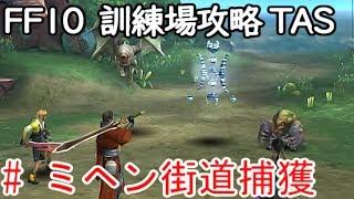 (コメ付き)【TAS】FF10 WIP 【ミヘン街道捕獲編】