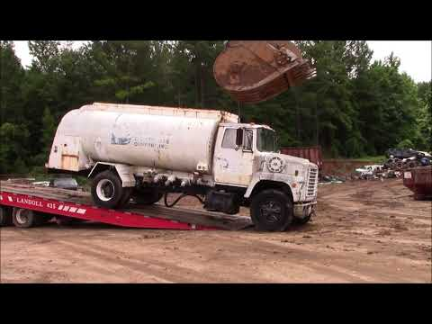 Scrapped! Old Ford Tanker Truck!